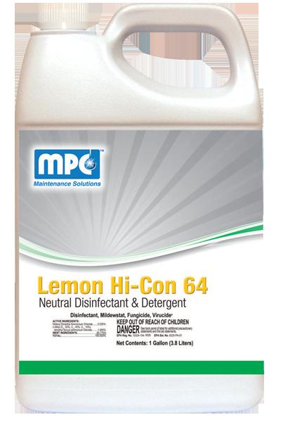 Lemon Hi-Con 64 - L64 - Misco Products Corporation