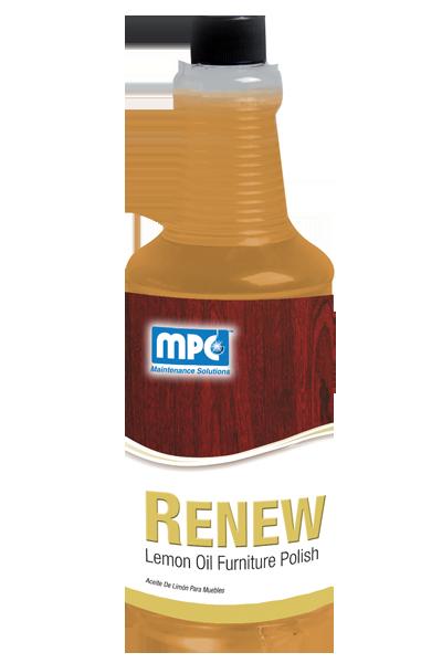 Renew-Lemon Oil Furniture Polish (12/1 quarts)