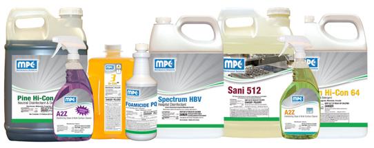 Misco Disinfectants